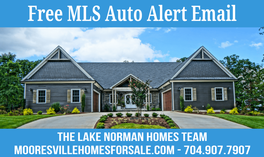Mooresville MLS Homes For Sale Email Alert